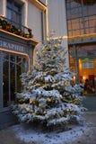 Arbre de Noël chez Puy du Fou image libre de droits