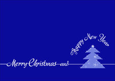 Arbre de Noël créatif Image libre de droits