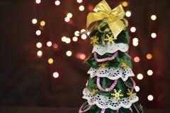 Arbre de Noël décoratif Image libre de droits
