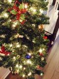 Arbre de Noël d'O Image libre de droits
