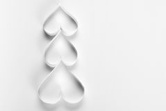 Arbre de Noël d'origami Images libres de droits