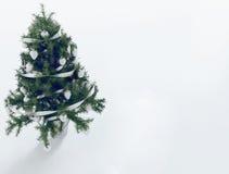Arbre de Noël dans la chambre 3d Photographie stock libre de droits
