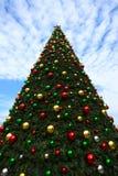 Arbre de Noël dans la vieille ville de Jaffa Photographie stock