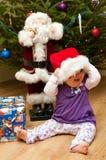 Arbre de Noël de chéri Photographie stock libre de droits