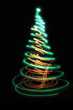 arbre de Noël de couleur Photographie stock libre de droits