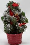Arbre de Noël de décoration photographie stock libre de droits