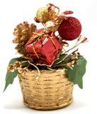 Arbre de Noël de décoration photographie stock