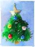 Arbre de Noël de DW Photo libre de droits