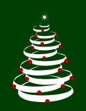 arbre de Noël de fond Photo libre de droits
