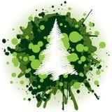 arbre de Noël de fond Images stock