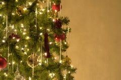 Arbre de Noël de Noël images stock