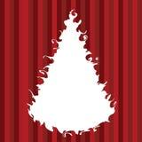 Arbre de Noël de Swirly illustration libre de droits