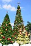 Arbre de Noël, fond de Noël Photographie stock