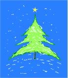 Arbre de Noël - illustration de vecteur illustration stock