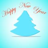 Arbre de Noël, insecte de célébration, bannière, sapin Images stock