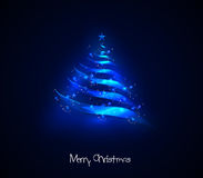 Arbre de Noël léger Images libres de droits