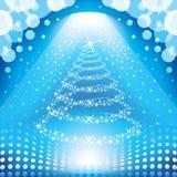 Arbre de Noël magique Photographie stock