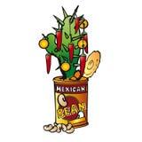 Arbre de Noël mexicain illustration stock