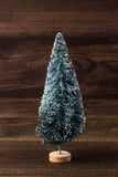 Arbre de Noël miniature Photo stock
