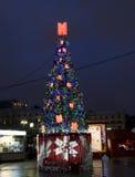 Arbre de Noël, Moscou Photo stock