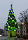Arbre de Noël, Moscou Photo stock