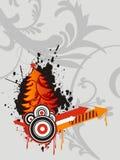 Arbre de Noël neuf créateur abstrait de conception VE illustration stock