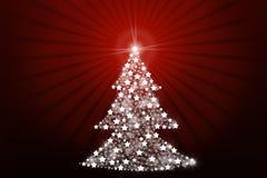 Arbre de Noël stylisé illustration stock