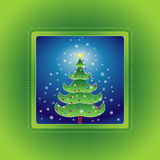 Arbre de Noël, vecteur   illustration stock
