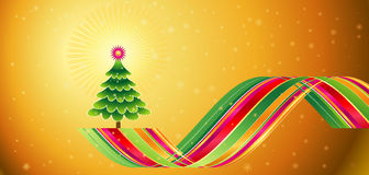 Arbre de Noël, vecteur   Photo stock