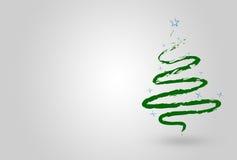Arbre de Noël vert illustration libre de droits