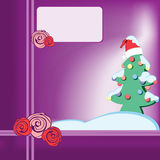 Arbre de Noël 2 Images libres de droits