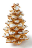 Arbre de Noël de biscuit Photos stock