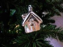 Arbre de nouvelle année de Noël Image libre de droits