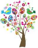 Arbre de Pâques illustration stock
