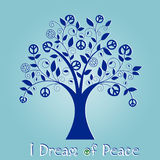 Arbre de paix Photographie stock libre de droits