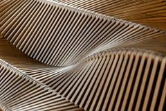 Arbre en bois de sculpture Image libre de droits