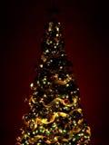 Arbre et cadeaux de Noël Images stock