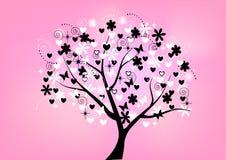 Arbre floral beau Photos libres de droits
