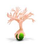 arbre humain photos libres de droits