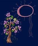 Arbre magique illustration stock