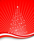 arbre magique magique de Noël Photographie stock