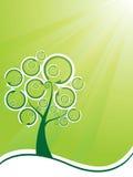 arbre réutilisé illustration libre de droits