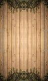 Arbre sur le papier peint en bois de fond de texture de planches photo libre de droits