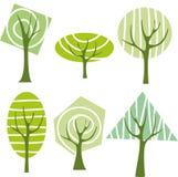 arbre vert Photographie stock