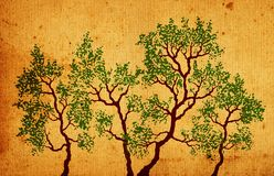 Arbres Illustration Libre de Droits