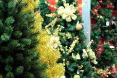 Arbres de Noël à vendre Image stock