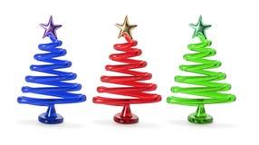 arbres de Noël Photos stock