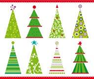 arbres de Noël illustration de vecteur