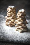 Arbres de Noël faits maison Photographie stock libre de droits