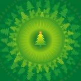 Arbres de Noël, vecteur   Photos stock